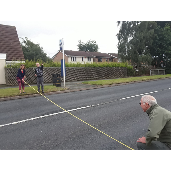 Measuring the Droveway
