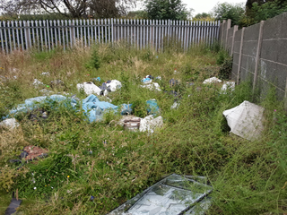 fly tipping Probert Road